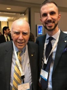 Dr Zach Sisler and Dr Peter E Dawson