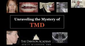 TMD Webinar The Dawson Academy