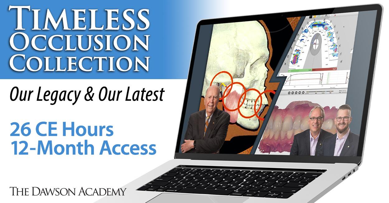 Online Dental CE Occlusion Dawson Academy