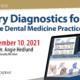 Salivary Diagnostics Integrative Dental Medicine Dental CE Live Stream